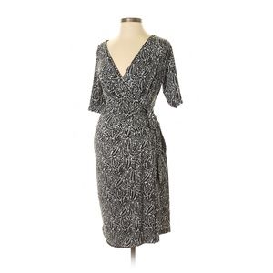 Motherhood Maternity Wrap Dress